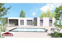 Maisons toitures terrasses