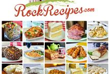 The rock recipes / by Peg Wilson