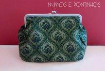 Mimos & Pontinhos - Acessórios femininos / Acessórios em tecido, 100% artesanal