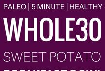 Whole30 Breakfast Recipes / Struggling with breakfast while on the Whole30?  Here's a roundup of the best whole30 breakfast recipes!