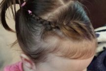 Baby & toddler hair ideas