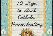 Catholic homeschooling / by Christina Achey