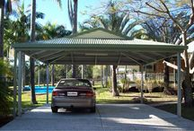 Dutch Gable Carport Kits / All about Dutch Gable Carport Kits - different sizes you can get, how they're made. Colorbond steel used