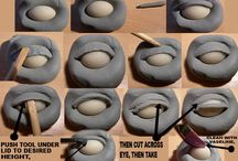 Clay: Sculpting Tutorials / Helpful tutorials for sculpting. I will force myself to work through them.