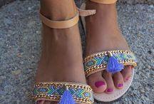 sandalias boho