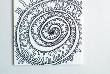 Zentangle Спирали