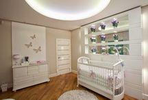 Decoração Quartos de Bebê! / Veja + Inspirações e Dicas de decoração no blog!  www.construindominhacasaclean.com