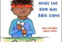 Jesus heals the blind / DABS 2016