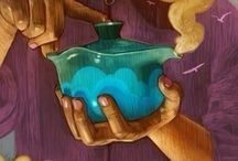 Чай иллюстрации