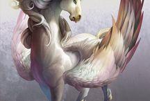 Fantasie dieren / Dit zijn mijn top 10 fantasie dieren.
