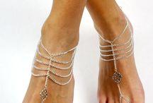 sandalias descalza