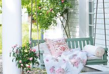 Spring on the porch / Spring
