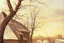 39.XVII - życie codzienne - na podwórzu, przy pracy, na targu...