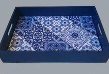 Mosaico e azulejos