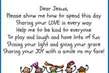 Preschool prayers