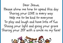 Prasekolah taman kanak kanak prayer