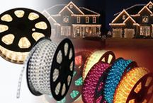 LED Rope Light /  120Volt high quality LED rope light for outdoor decorative lighting.