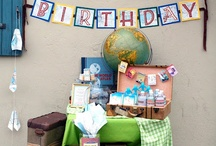 40th Birthday Party / My birthday is in July, so what a great time to have a beach/tropical themed party! ... I wouldn't say no to an autumn-theme, however, as it's my favorite season. / by Gina Wessells