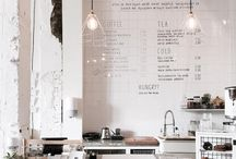 white cafe design