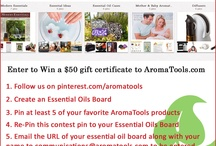 Essential oils and aroma tools