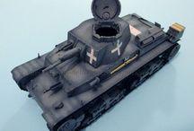 Modellismo - PzKpfw. 35(t) / Panzerkampfwagen 35(t) (Academy 13280) - 1/35 scale model - http://vonvikken-modellismo.blogspot.it/search/label/Panzer%2035%28t%29