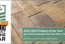 APLD Product of the Year / The APLD Product of the Year Award showcases design worthy products that add to outdoor living. Members of APLD are invited to nominate their favorite products to be considered for the award, and certified members vote on the winner.