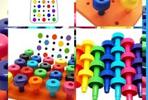 Pegboard / pegboard sets for kids