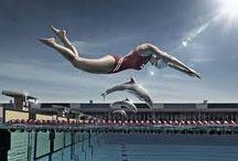 swimming / swim
