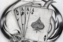 Poker tatuaje