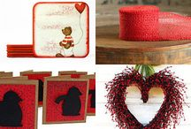 rustic in red