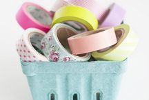 washi tape! / You make anything pretty and colourful with washi tape!