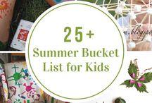Bucket list kids