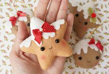 Felt Christmas Tree Ornamen