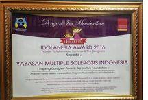 """YMSI MEMPEROLEH PENGHARGAAN """"IDOLANESIA AWARD 2016"""""""