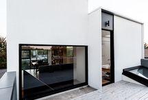 Terrasse K. / #terrasse #bois #pierre #béton #extérieur #patio #revêtement