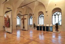 Foto sale Galleria Nazionale dell'Umbria / Immagini dell'attuale allestimento museografico della Galleria Nazionale dell'Umbria a Perugia.