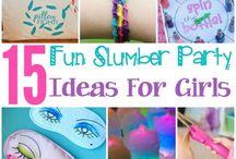 2017 slumber party ideas