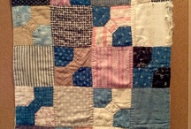 Lovely vintage or antique doll quilts - small quilts
