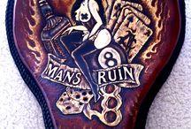 Man's Ruin Solo Bobber Seat