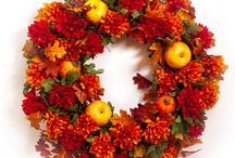 Ideas for Ms. Jackie / Fall wreaths