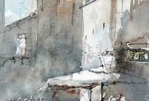 Acuarele - Watercolors