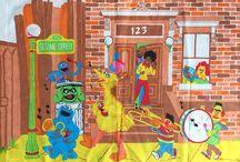 vintage sesame street / muppets