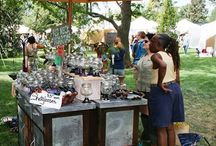Vintage & Repurposed Items / Shabby Chic, Rustic Farmhouse, Modern or Steam Punk, our vendors carry some amazing one-of-a-kind items that they created from other practical items! / by Greeley Arts Picnic