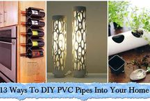 DIY PVC Pipes Into Your Home