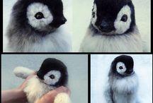 yavru penguen
