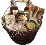 Gift Baskets from the Hive - Hive and Honey Basket / Handmade Gift Baskets - Made to Order Materials: Raw Honey, All Natural Handmade Soap, Beeswax, Lotion Bars Gifts from the Hive