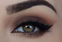 smoky look make up..