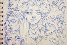 desenhos que eu gostaria de fazer