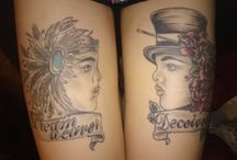 My own tattoos