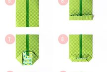 Balení dárků / wrap it up, wraping present, gift wrap,